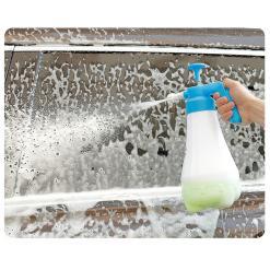 手動雪泡打泡壺 港人自洗車必備