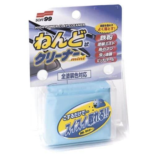SOFT99 推泥泥膠 香港洗車打蠟DIY